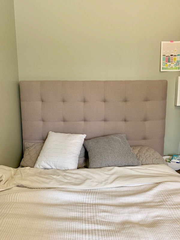 Used Tufted Headboard Full Size Bed For Sale In New York Letgo