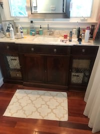 "72"" bathroom vanity. Antique buffet converter single kholer sink and grohe faucet Norfolk, 23517"