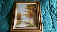 Framed picture/painting  Laurel, 20707