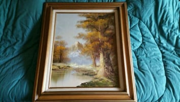 Framed picture/painting