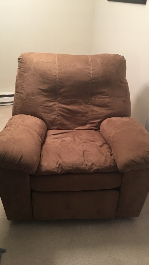 Lightly used recliner