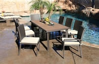 9x Wicker Dining Set Beige - Brand New! Factory direct! $1199 instead of $1850! Outdoor Patio Furniture  Ontario, 91761