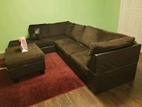 Sectional /L shape sofa with ottoman  Ajax, L1Z 1H6