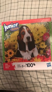 Junior puzzles 100 piece each boxe $1.00 Inwood, 25428