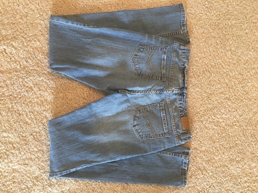 aeropostale bayla skinny jeans 7 8 long in allen letgo. Black Bedroom Furniture Sets. Home Design Ideas