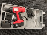 18V Drill set w/ 2 batteries Richmond Hill