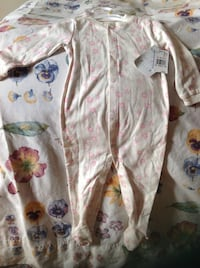 Baby's white and pink onesie  Burlington, L7T 3Z6