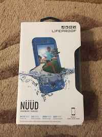 iPhone 7 lifeproof waterproof dirtproof snowproof drop proof case brand new Nuud series blue  Hamilton, L8M 2B5