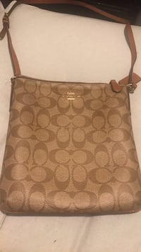 brown Coach monogram shoulder bag Washington, 20018