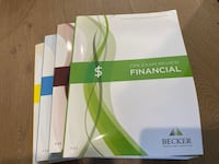Becker AICPA books and flash cards Sunnyvale, 94086
