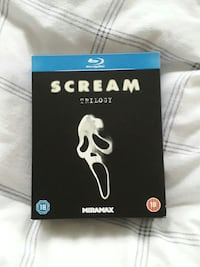 Scream Trilogy bluray Bergen, 5118