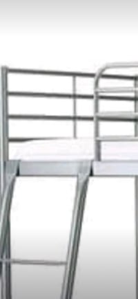 black metal bunk bed frame Surrey, V3V 4H3