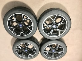 215/50/17 tires and Rims excellent condition