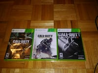 Xbox 360 call of duty pack 3 game North Port, 34287