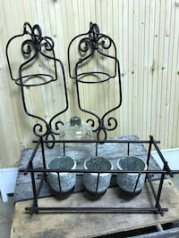 Iron sconces, and candle holder Hagerstown, 21742