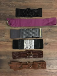 Assortment of different belts  Coral Springs, 33071