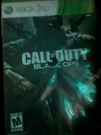 Call of Duty Black Ops Xbox 360 game case Amarillo, 79107