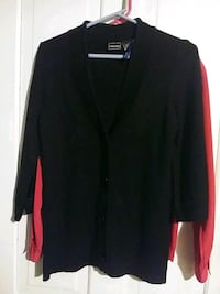 black button-up cardigan Augusta, 30904