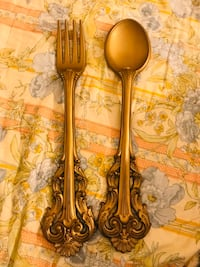 Fork and Spoon Kitchen Decoration