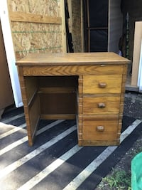 3 Drawer Heavy Wood Desk Laurel, 20708