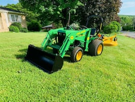 Tractor Has Approx 600 Hours2005 John Deere 650