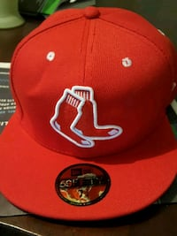Red and white boston red sox cap Denton, 76209