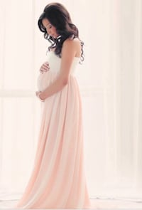 Maternity gown: brand new!