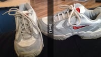 size 8.5 grey-and-white Nike running shoes Moncton, E1C 6P3