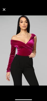 Super Hot  Velvet bodysuit for holidays Montreal