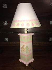 Curlee couture nursery lamp