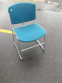 Retro Steelcase Max Stacker Stacking Chairs - 2 pieces  Bridgeport, 06608