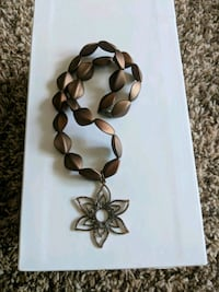 black and brown beaded necklace Atlanta, 30318