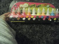 Puffy Paint Rainbow container set