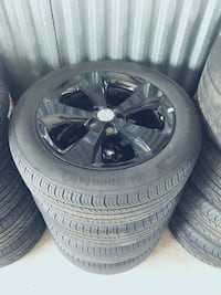 "18"" Oem Jeep Cherokee Wheels And Tires  Sterling Heights, 48312"