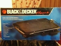 Electric griddle - Black and Decker - New Montreal, H4R 1A2