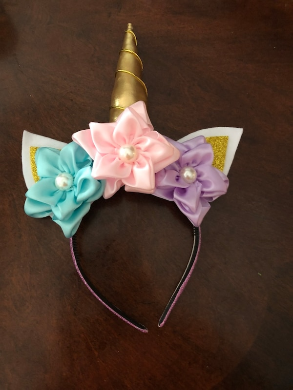 Used Unicorn Headband! for sale in Brownsville - letgo 90885fb845a