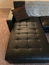 Leather Sectional/FoldDown Bed Lone Tree, 80124