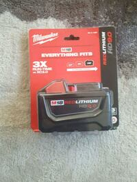 black and red Milwaukee battery charger Winnipeg, R2K 3E4