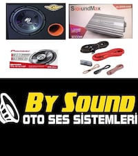 Ses SİSTEMİ paket set komple BY SOUND DA İNDİRİM  Sincan, 06934