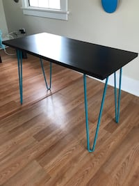 Writing Desk Hairpin Legs (Teal) Long Beach, 90802