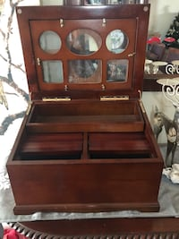 brown wooden cabinet with mirror Riverside, 92504