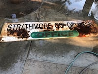 Strathmore Co-Op Sign For Sale Lindsay, 93247