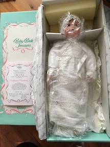 Knowles Porcelain Doll-Catherine's Christening of Baby Book Treasures