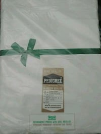 White table cloth brand new.