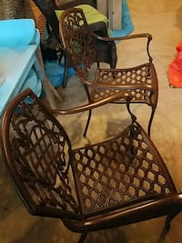 2 chairs :brown in color Clinton, 20735