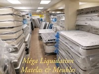 Mattress Liquidation store 80% off Montreal, H3W 1H8