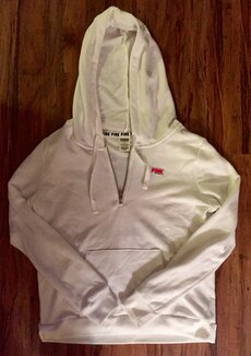 VS Victoria's Secret PINK 3/4 Zip Hoodie NEW w/ ...