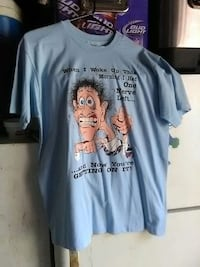 Noveity t shirt size large in good condition Clearwater, 33760