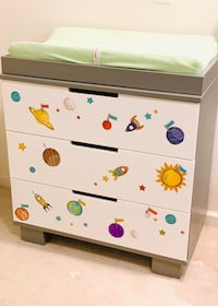 Babyletto Modo 3-Drawer Changer Dresser with Removable Changing Tray Alexandria, 22303