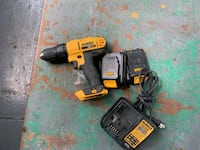 Dewalt drill charger, extra battery